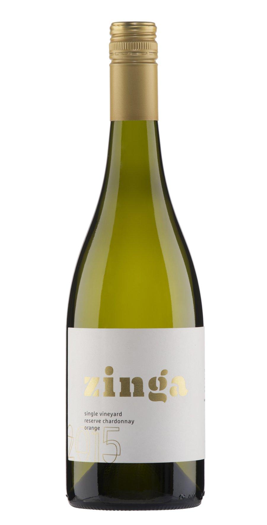 Zinga 2015 Single Vineyard Reserve Chardonnay