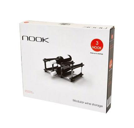 NOOK 3 Wine Rack Starter Kit